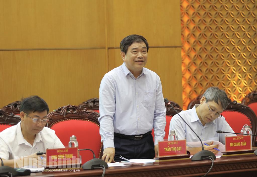 Báo cáo chính trị trình Đại hội Đảng bộ tỉnh lần thứ XXII Những điểm mới mang tính chiến lược đột phá xuyên suốt