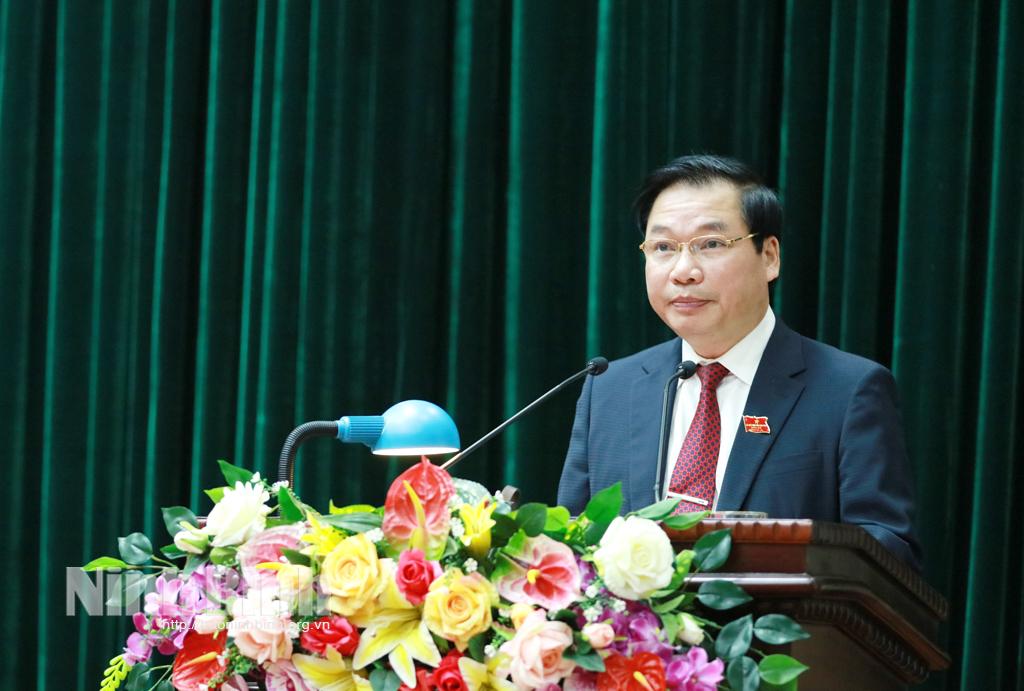Khai mạc kỳ họp thứ 21 HĐND tỉnh khóa XIV nhiệm kỳ 20162021