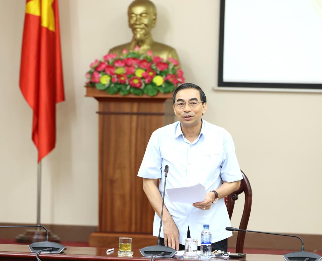 Ban Tổ chức Đại hội thi đua yêu nước tỉnh Ninh Bình lần thứ V họp triển khai nhiệm vụ