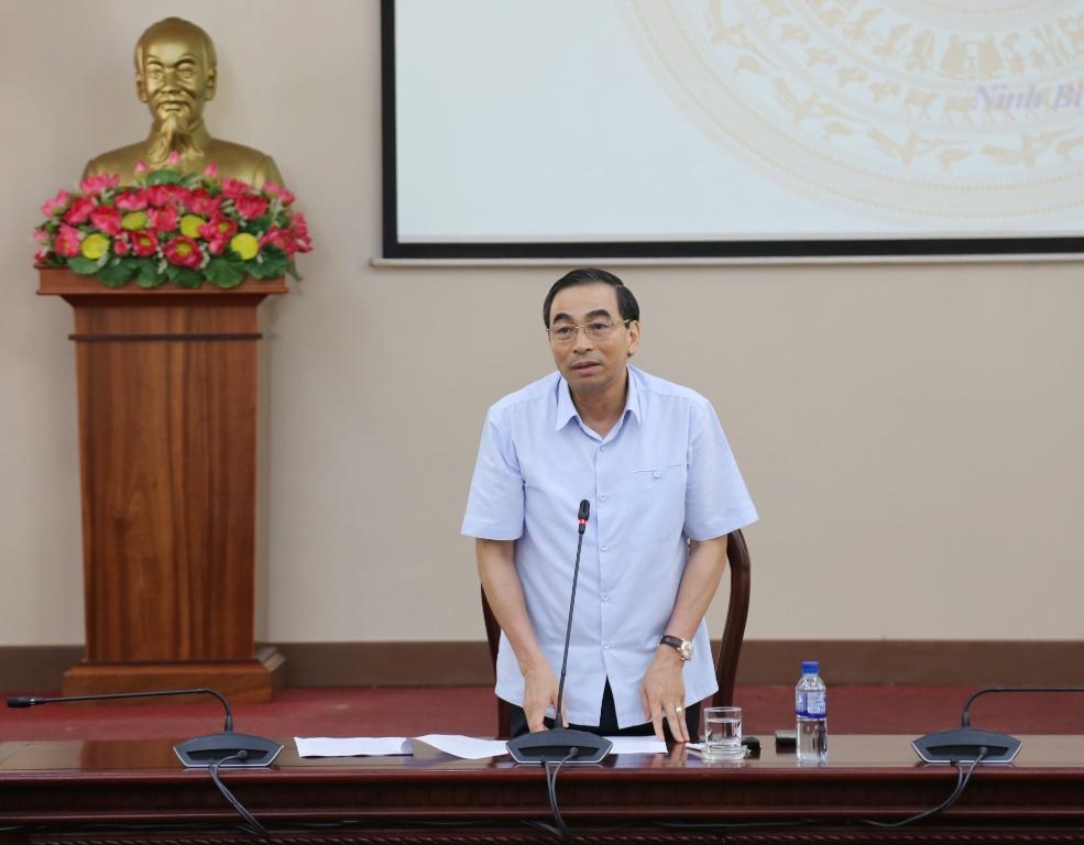 Hội nghị Ban chỉ đạo phòng chống dịch bệnh COVID19 tỉnh Ninh Bình