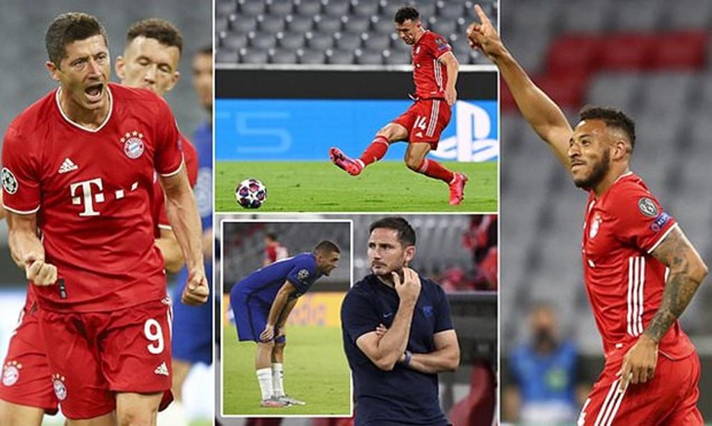 Bayern hiên ngang vào tứ kết Champions League với tổng tỷ số 71