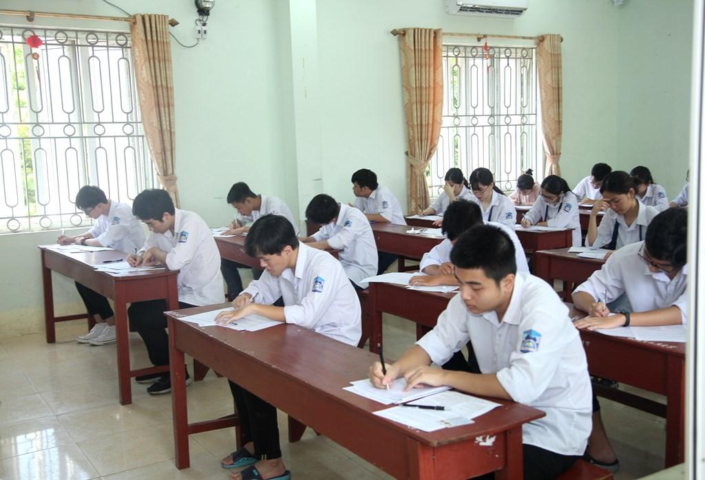 Kiểm tra công tác thi tốt nghiệp THPT năm 2020