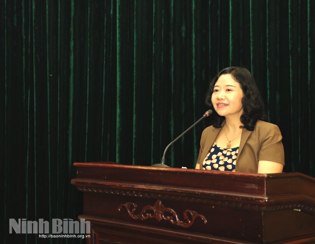 Họp báo Đại hội thi đua yêu nước tỉnh Ninh Bình lần thứ V