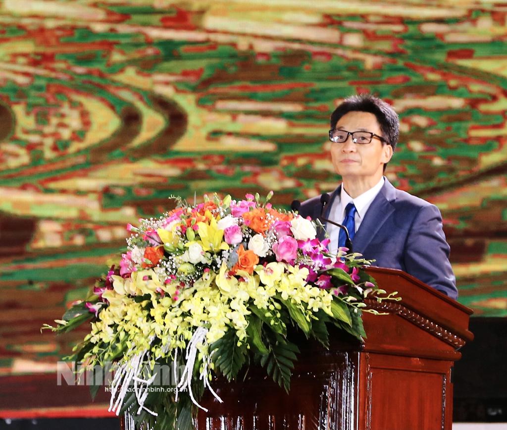 Khai mạc Năm Du lịch Quốc gia Ninh Bình 2021 Hoa Lư Cố đô ngàn năm