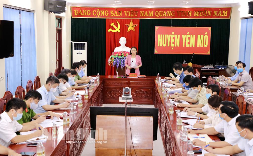 Các đồng chí lãnh đạo tỉnh kiểm tra công tác chuẩn bị cho cuộc bầu cử đại biểu Quốc hội khóa XV và đại biểu HĐND các cấp nhiệm kỳ 2021 2026