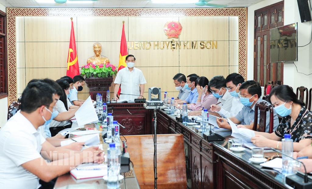 Ủy ban Bầu cử tỉnh kiểm tra công tác chuẩn bị cho cuộc bầu cử đại biểu Quốc hội khóa XV và đại biểu HĐND các cấp nhiệm kỳ 2021 2026