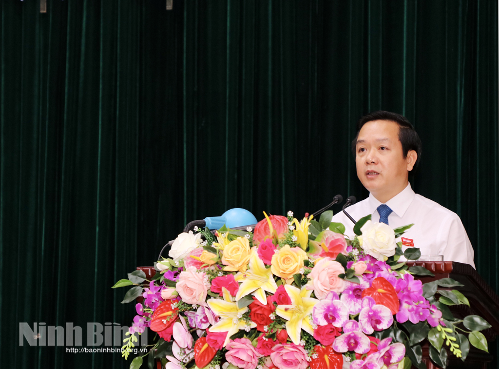 Đồng chí Phạm Quang Ngọc tiếp tục được tín nhiệm bầu giữ chức Chủ tịch UBND tỉnh Ninh Bình, nhiệm kỳ 2021-2026