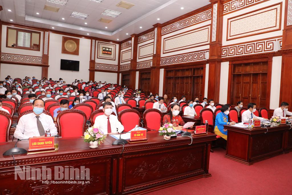 Khai mạc kỳ họp thứ nhất HĐND tỉnh khóa XV nhiệm kỳ 20212026