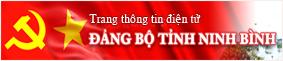 Trang thong tin tinh uy Ninh Binh