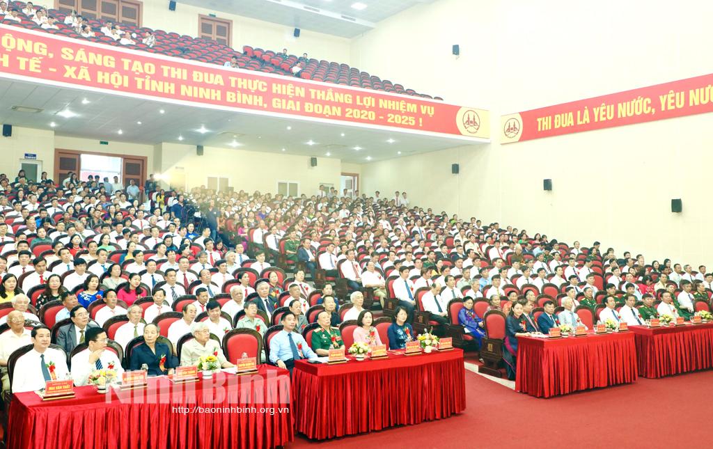 Khai mạc Đại hội Thi đua yêu nước tỉnh Ninh Bình lần thứ V
