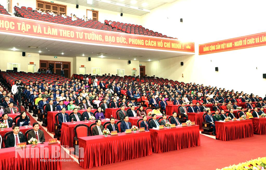 Đại hội đại biểu Đảng bộ tỉnh Ninh Bình lần thứ XXII thành công tốt đẹp