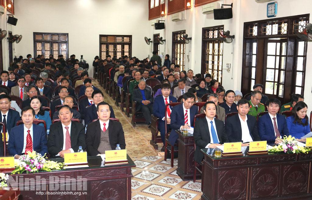 Kỳ họp thứ mười sáu, HĐND huyện Yên Khánh