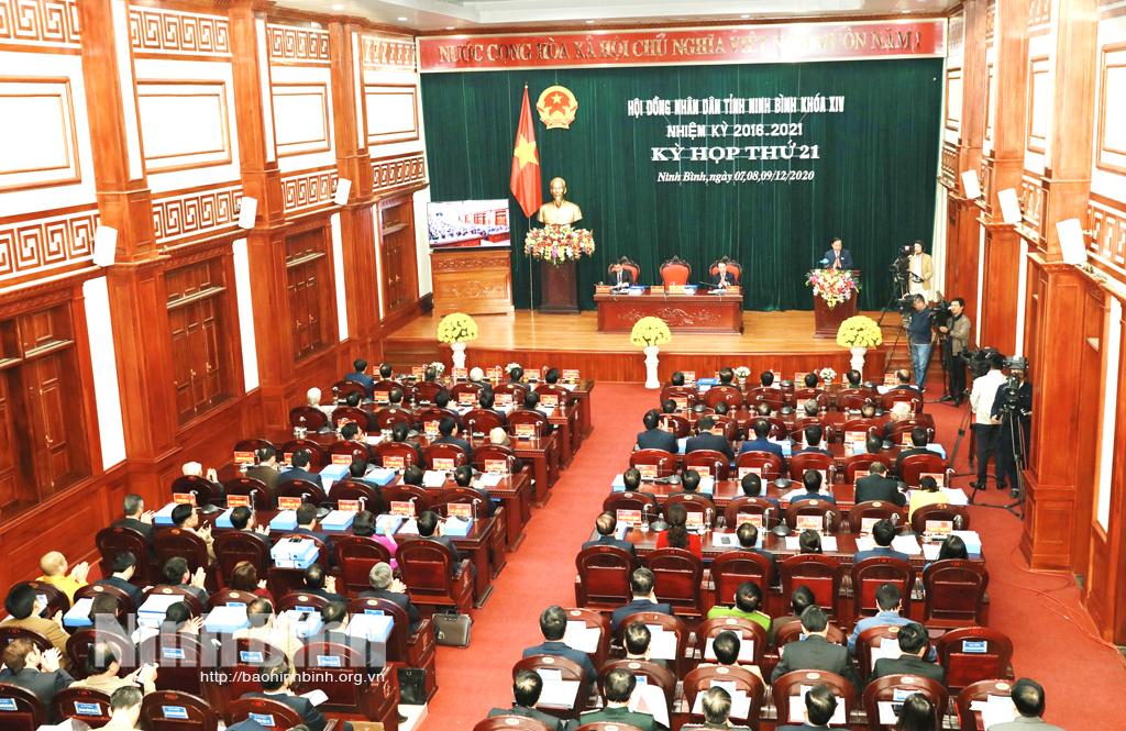 Khai mạc kỳ họp thứ 21, HĐND tỉnh khóa XIV, nhiệm kỳ 2016-2021