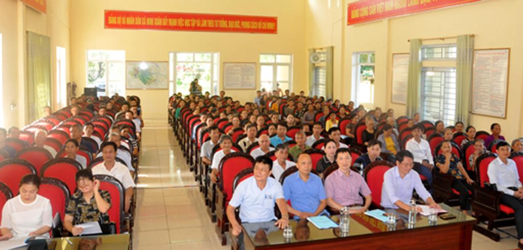 Tuyên truyền thực hiện nếp sống văn minh du lịch cho hơn 200 người dân xã Ninh Xuân