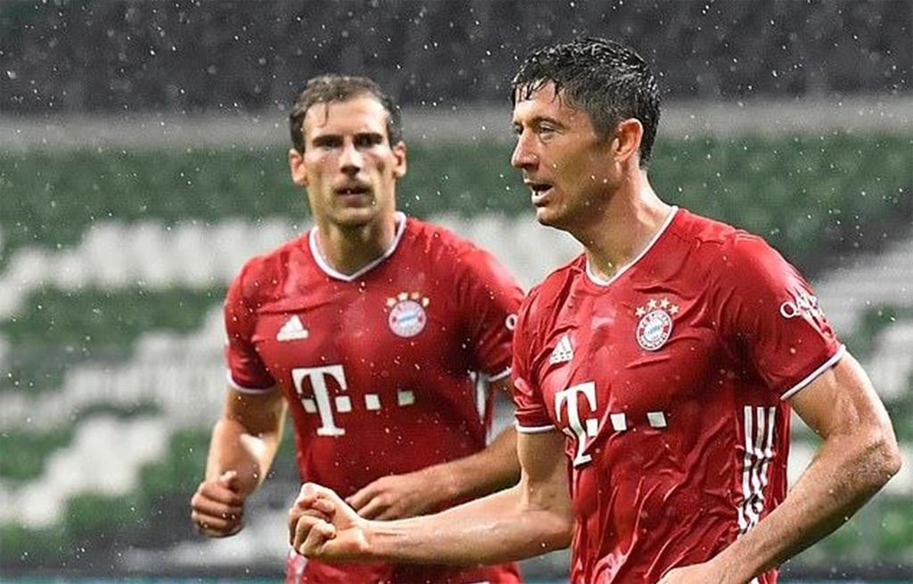 Bayern Munich lần thứ 8 liên tiếp giành chức vô địch Bundesliga