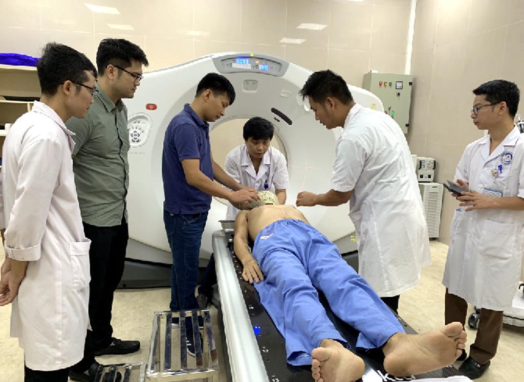 Bệnh viện Đa khoa tỉnh đưa vào hoạt động Đơn nguyên xạ trị