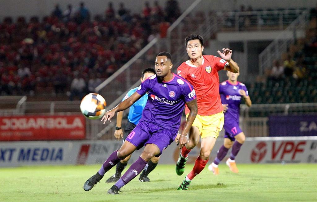 Vòng 6 V-League 2020 hấp dẫn với vị trí số 1 thuộc về TPHCM