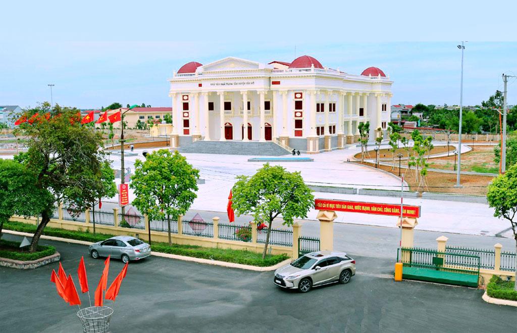 Bước chuyển trong xây dựng nông thôn mới ở Yên Mô