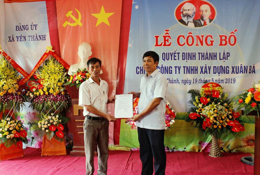 Điểm sáng trong thành lập tổ chức đảng ở các doanh nghiệp ngoài khu vực nhà nước