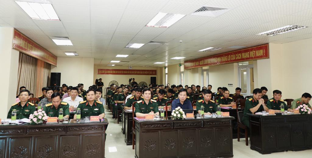 Bộ Chỉ huy quân sự tỉnh triển khai nhiệm vụ công tác 6 tháng cuối năm