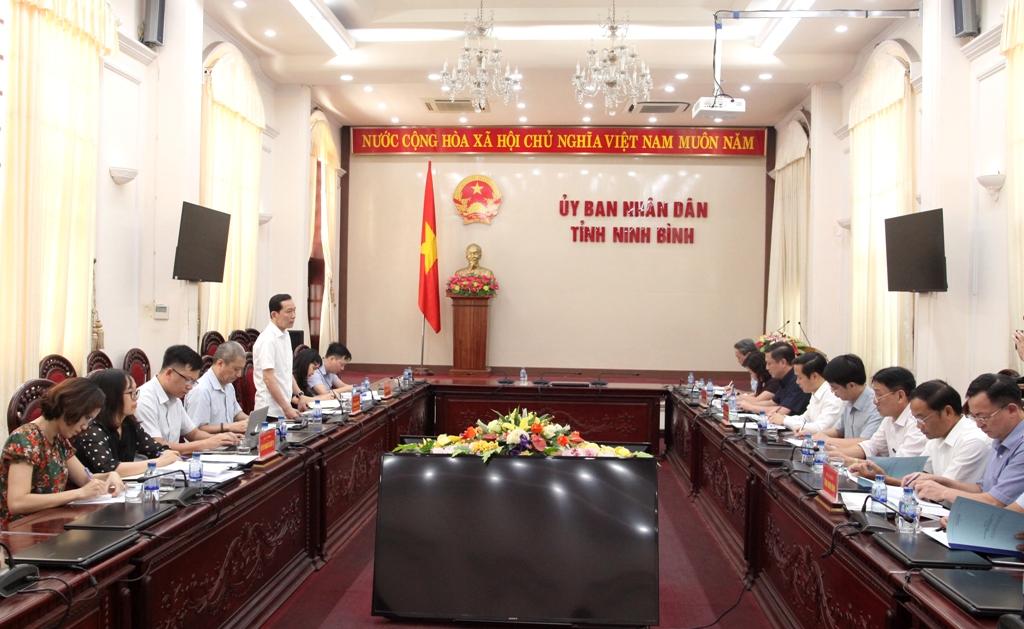 Bộ Kế hoạch & Đầu tư làm việc tại tỉnh về việc thi hành Luật Hợp tác xã 2012