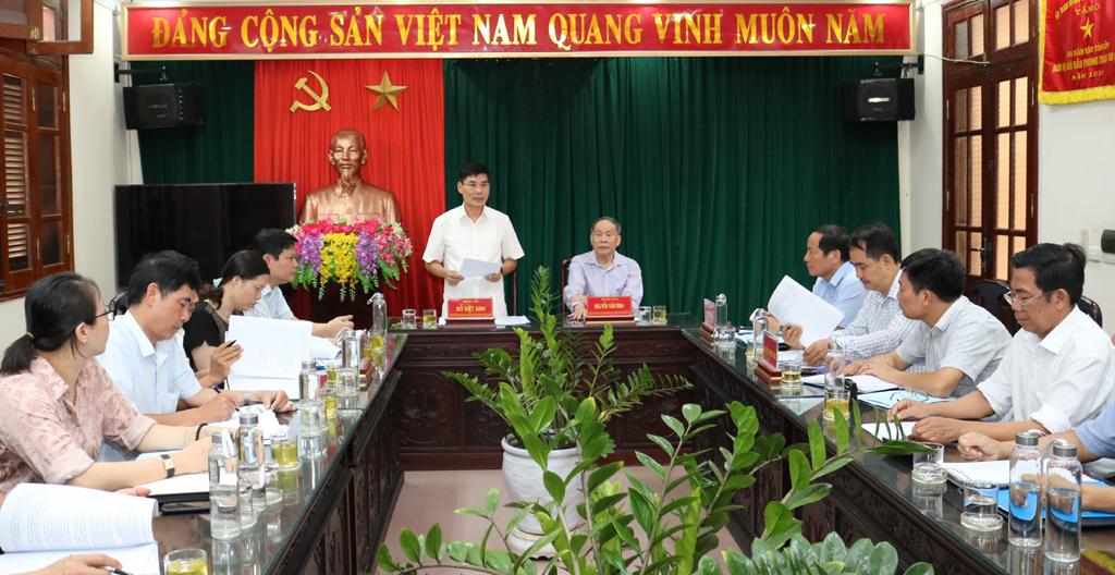 Hội Nạn nhân chất độc da cam/dioxin Việt Nam làm việc tại tỉnh về thực hiện Chỉ thị 43