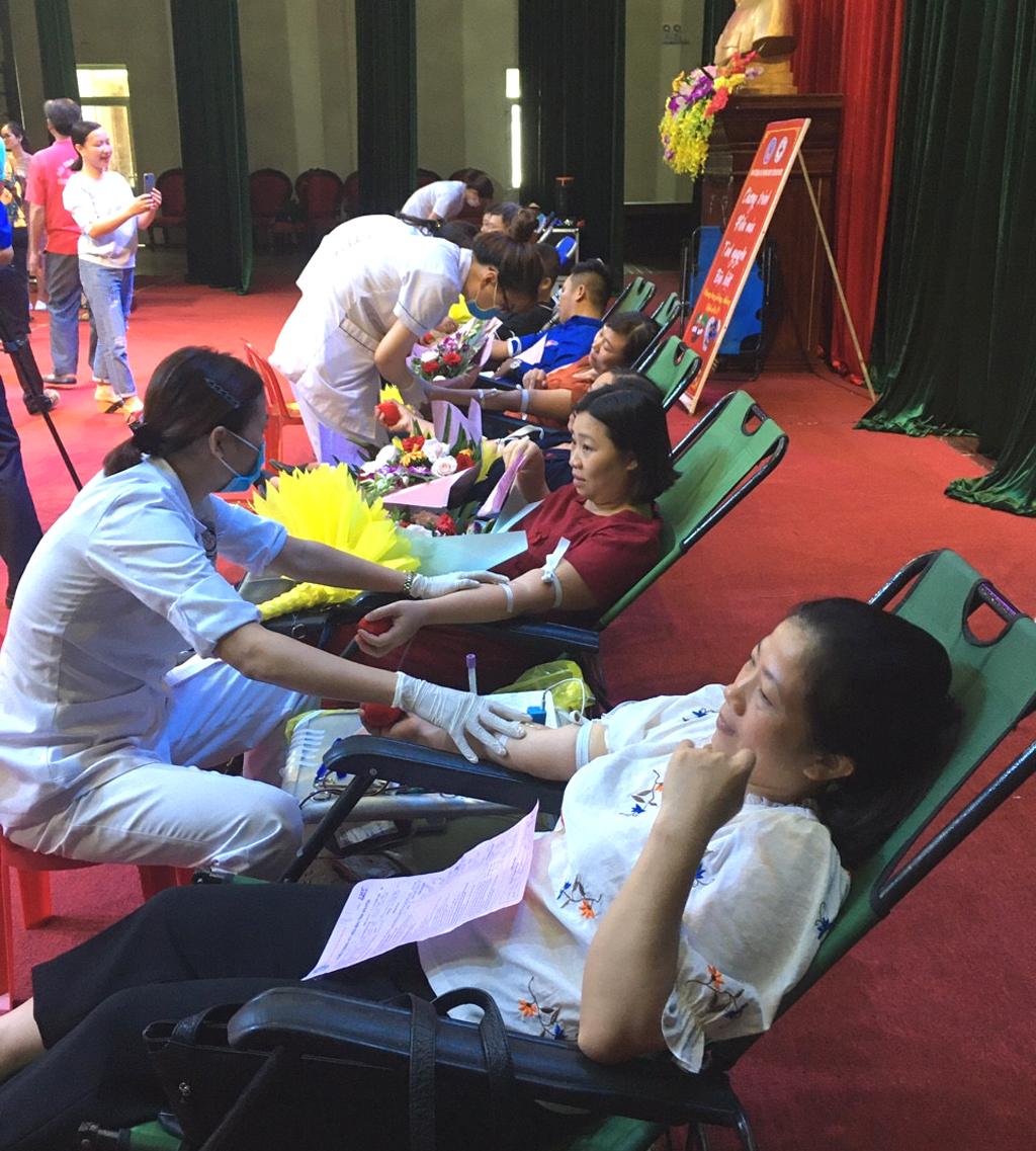 Ngày hội hiến máu tình nguyện huyện Yên Khánh