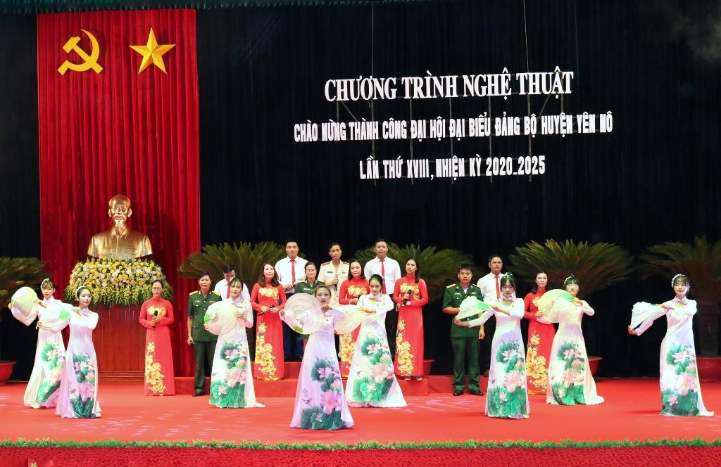 Chương trình nghệ thuật chào mừng thành công Đại hội đại biểu huyện Yên Mô lần thứ XVIII, nhiệm kỳ 2020-2025