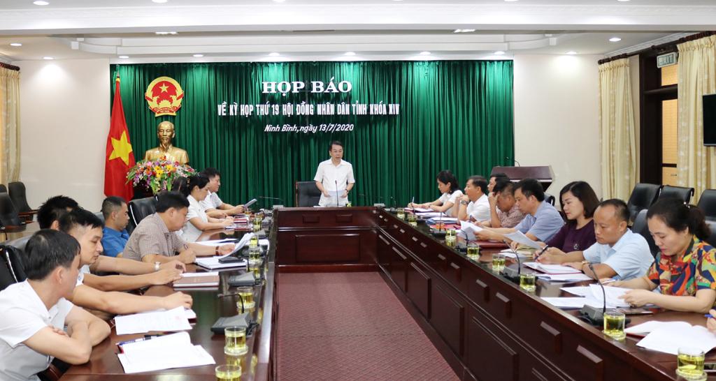 Kỳ họp thứ 19, HĐND tỉnh khóa XIV sẽ diễn ra từ ngày 22 - 23/7