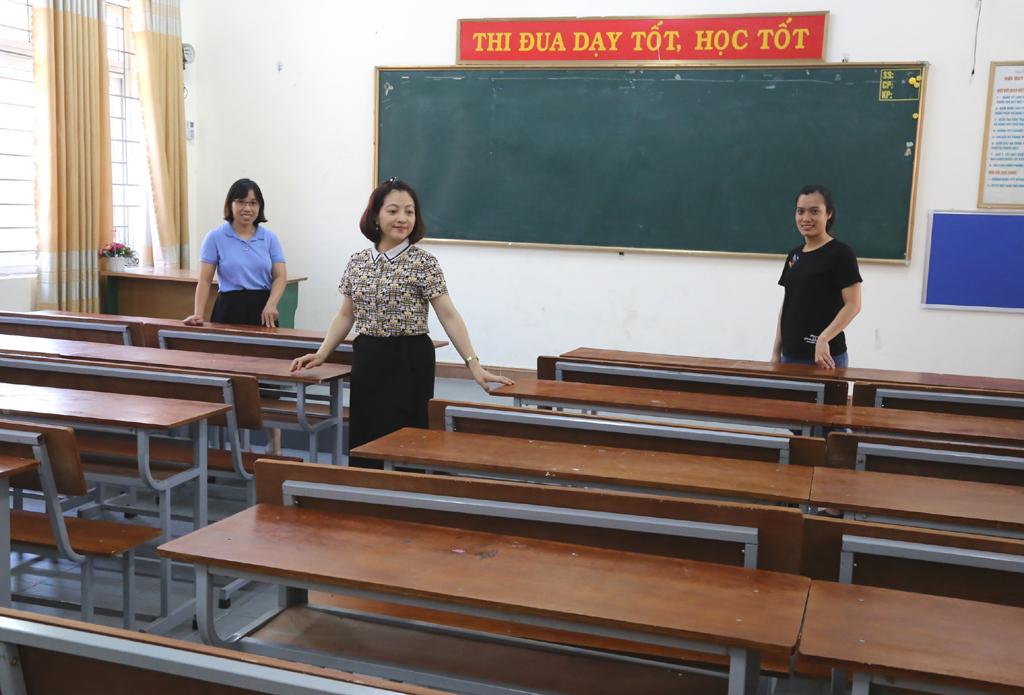 Sẵn sàng các điều kiện cho kỳ thi vào lớp 10 THPT 2020-2021