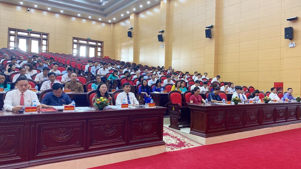 Kỳ họp thứ 12 HĐND huyện Gia Viễn khóa XIX, nhiệm kỳ 2016-2021