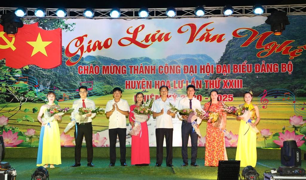Chương trình văn nghệ chào mừng thành công Đại hội Đảng bộ huyện Hoa Lư lần thứ XXIII, nhiệm kỳ 2020-2025