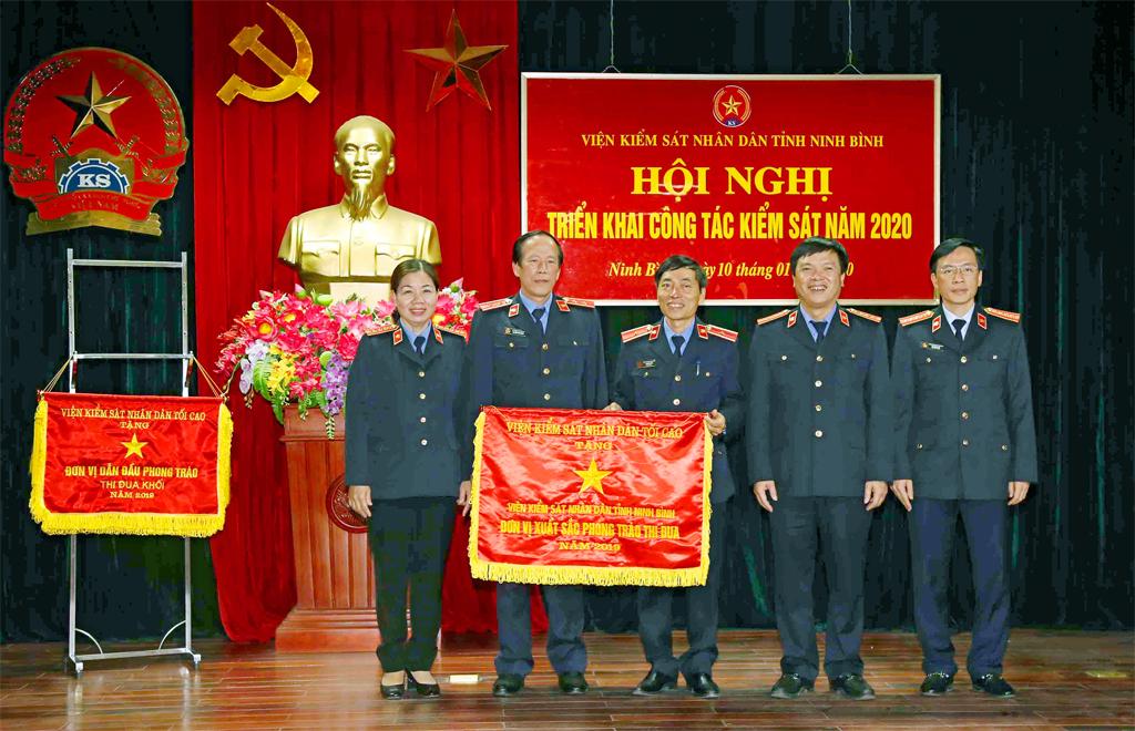 Ngành Kiểm sát nhân dân tỉnh Ninh Bình 60 năm xây dựng và phát triển