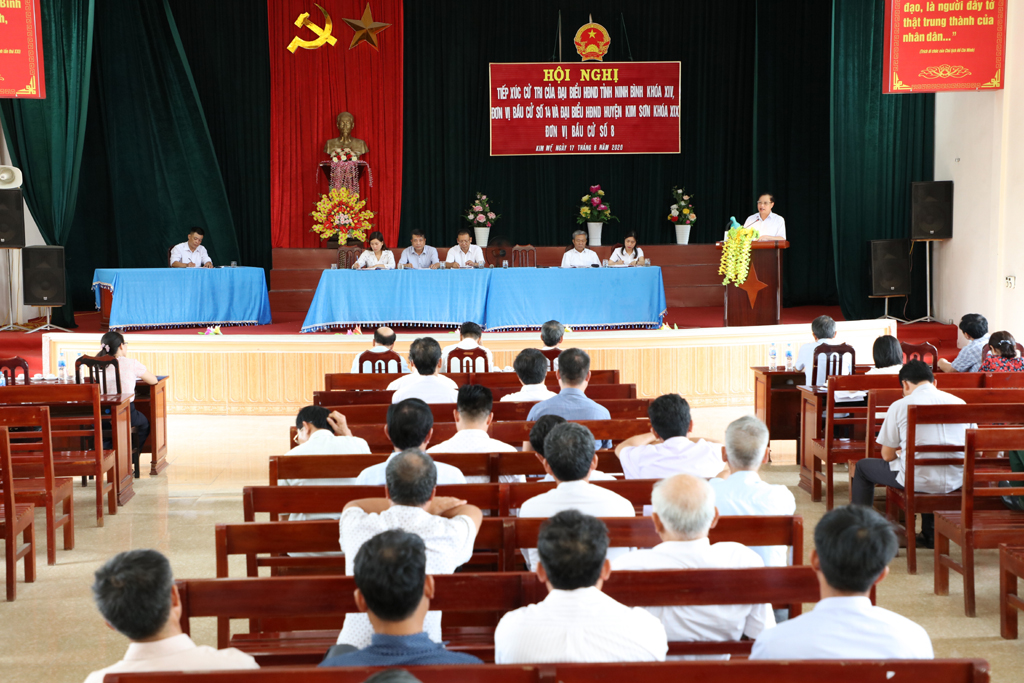 Nhiều kiến nghị của cử tri gửi đến kỳ họp thứ 19, HĐND tỉnh khóa XIV