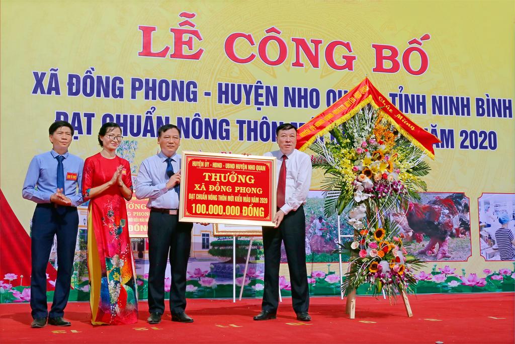 Phát huy tinh thần dân chủ, đoàn kết, sáng tạo, đổi mới, lãnh đạo toàn diện, xây dựng huyện Nho Quan ngày càng phát triển