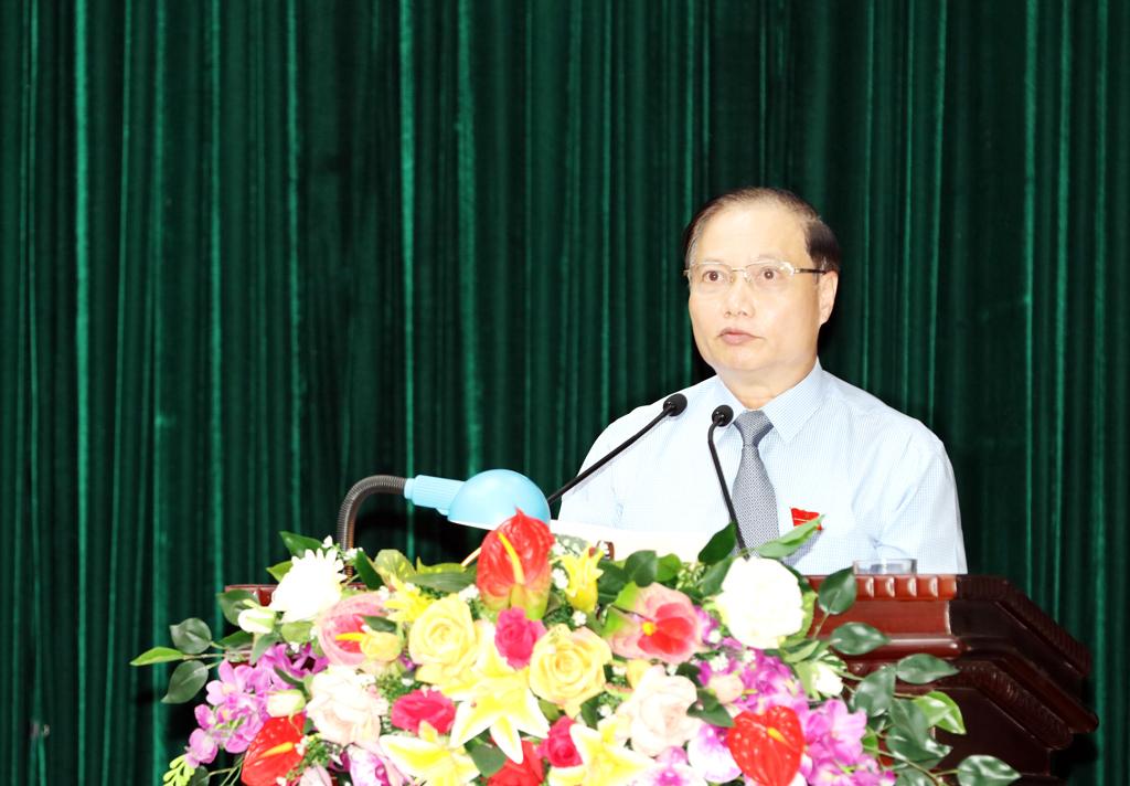 Toàn văn bài phát biểu bế mạc Kỳ họp thứ 19, HĐND tỉnh khóa XIV của đồng chí Chủ tịch HĐND tỉnh