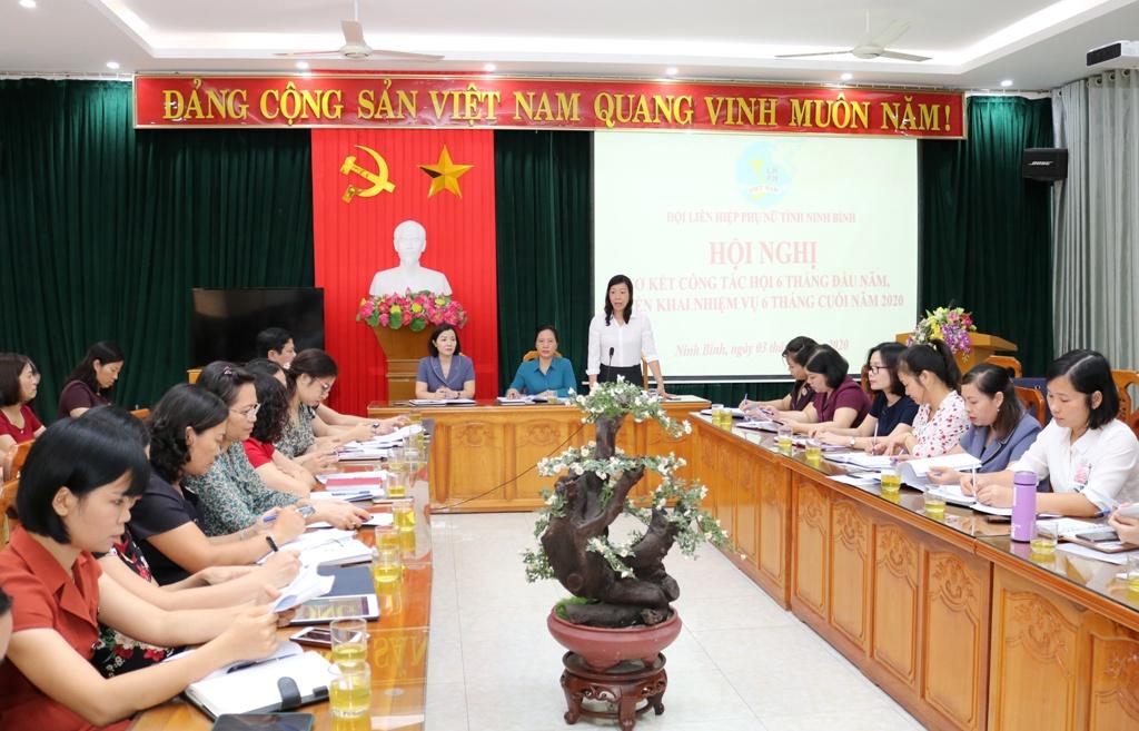 Triển khai công tác Hội Phụ nữ 6 tháng cuối năm 2020
