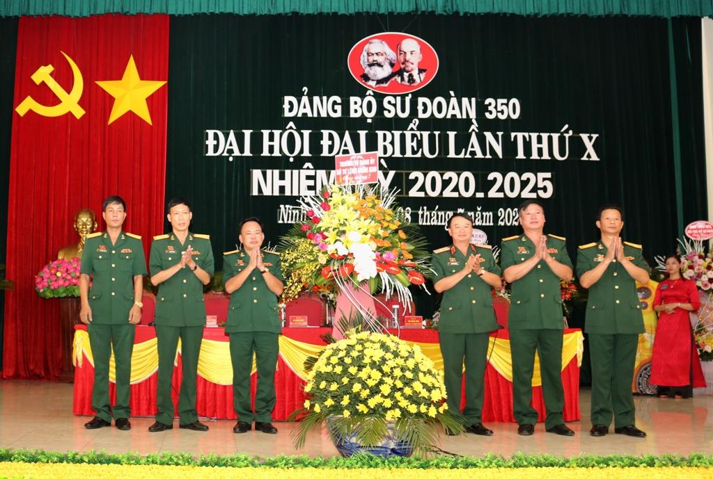 Đại hội đại biểu Đảng bộ Sư đoàn 350 lần thứ X, nhiệm kỳ 2020-2025
