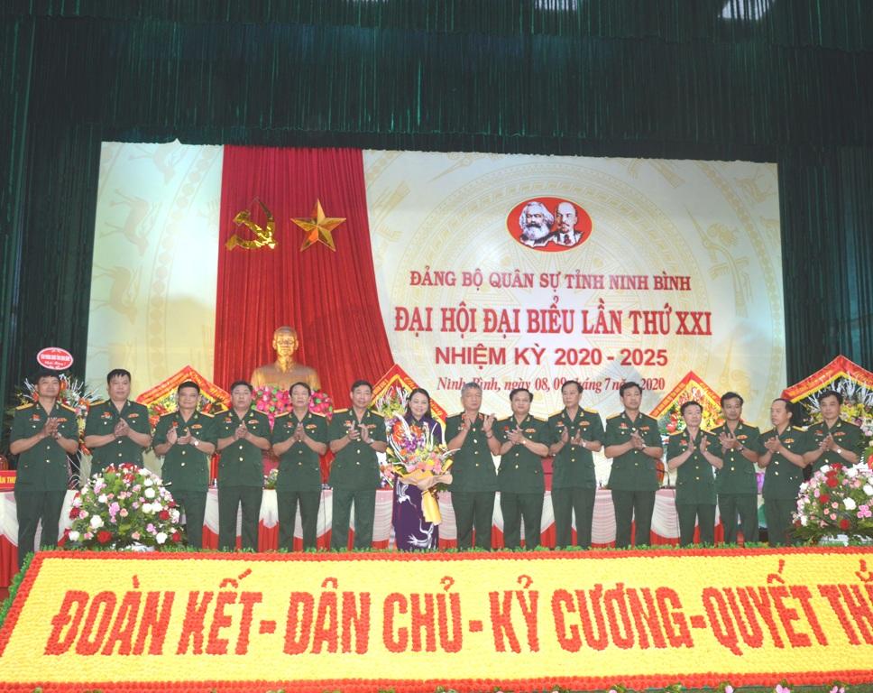 13 đồng chí được bầu vào Ban Chấp hành Đảng bộ Quân sự tỉnh khóa XXI