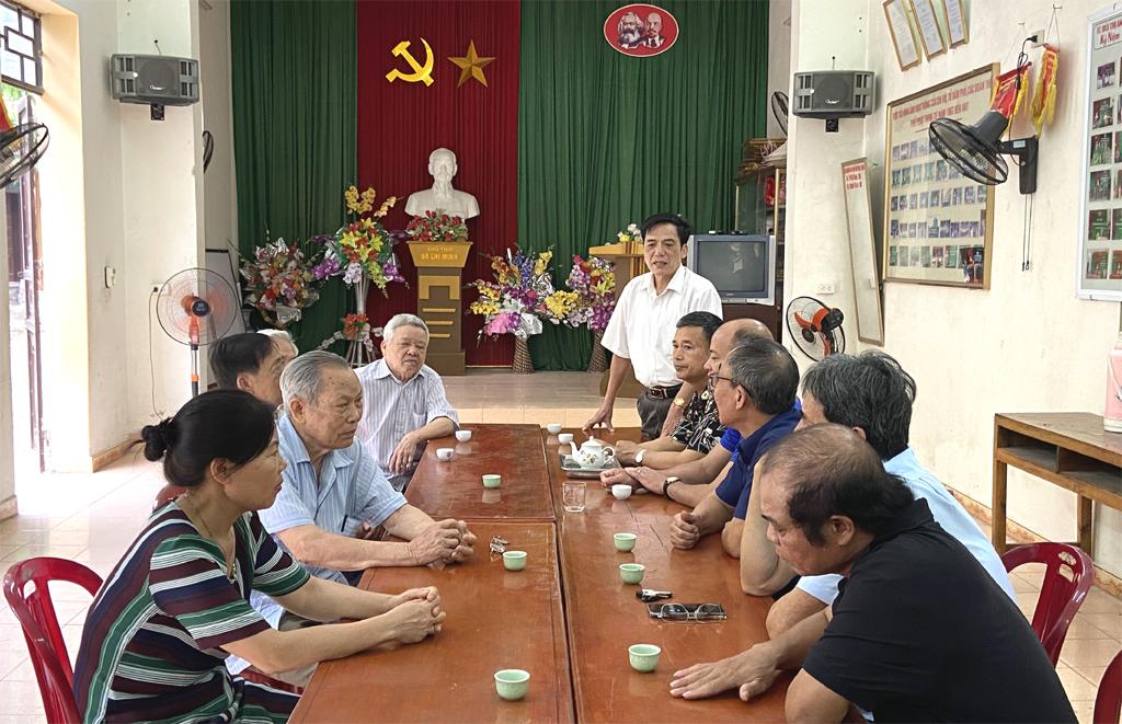 Thành phố Ninh Bình phát huy vai trò đảng viên hưu trí