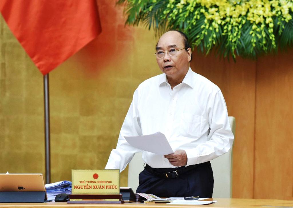 Thủ tướng chủ trì họp Chính phủ thường kỳ tháng 7