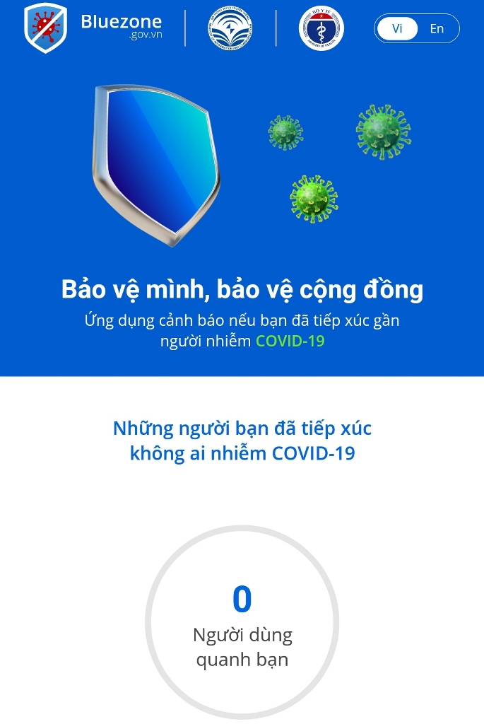 Cài đặt ứng dụng Bluezone phục vụ công tác phòng chống dịch bệnh Covid-19