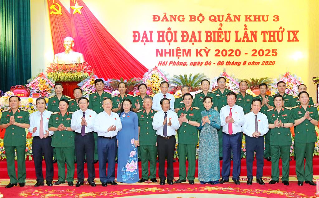 Đại hội đại biểu Đảng bộ Quân khu 3 lần thứ IX, nhiệm kỳ 2020-2025