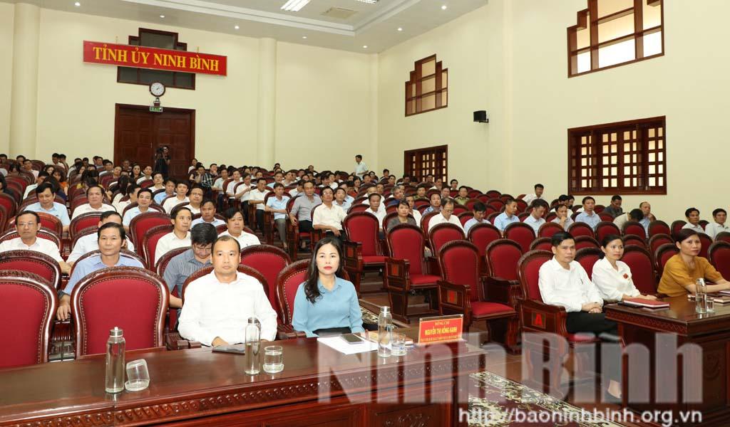 Hội nghị chuyên đề công tác tuyên giáo năm 2020