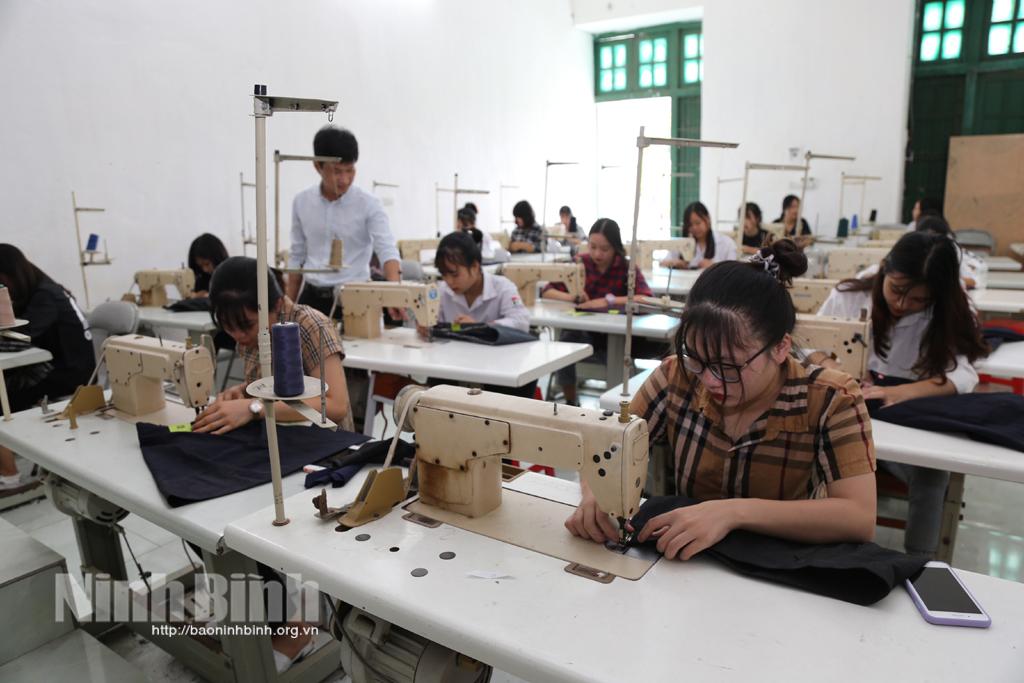 Trung tâm Giáo dục nghề nghiệp-Giáo dục thường xuyên Yên Khánh: Chuyển biến tích cực sau sáp nhập