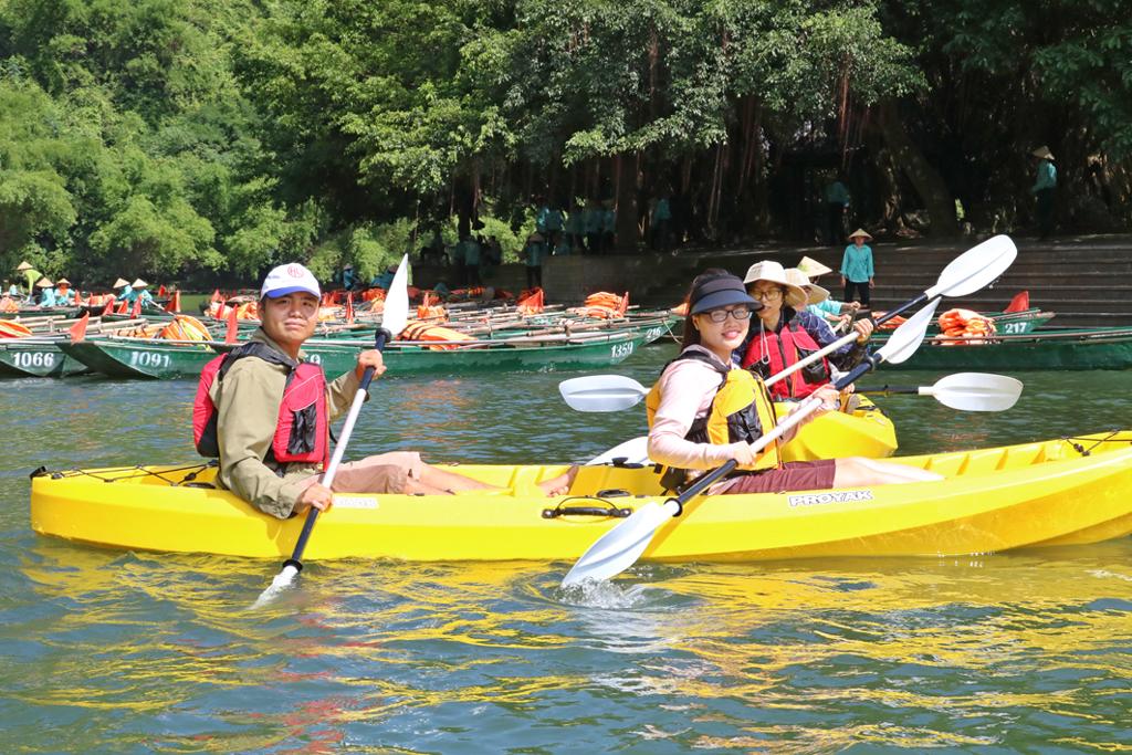 Ninh Bình: Thêm nhiều điểm vui chơi du lịch an toàn