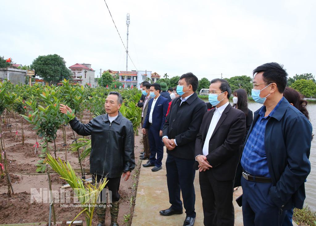 Thẩm định các xã đạt chuẩn NTM nâng cao ở huyện Yên Khánh