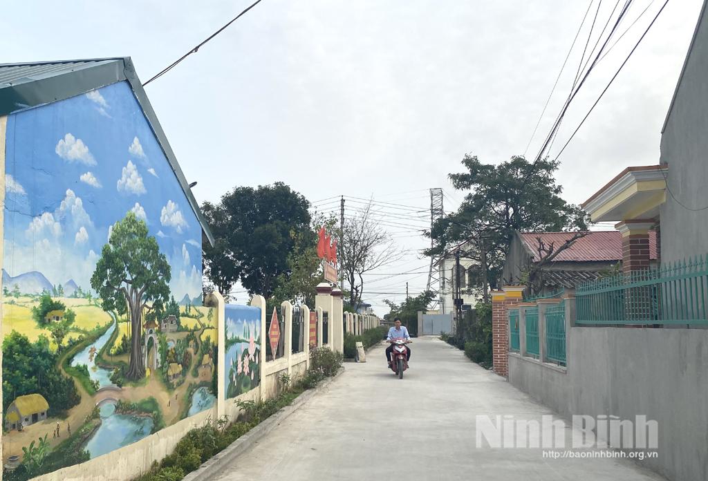 Xây dựng nông thôn mới nâng cao ở Thượng Kiệm
