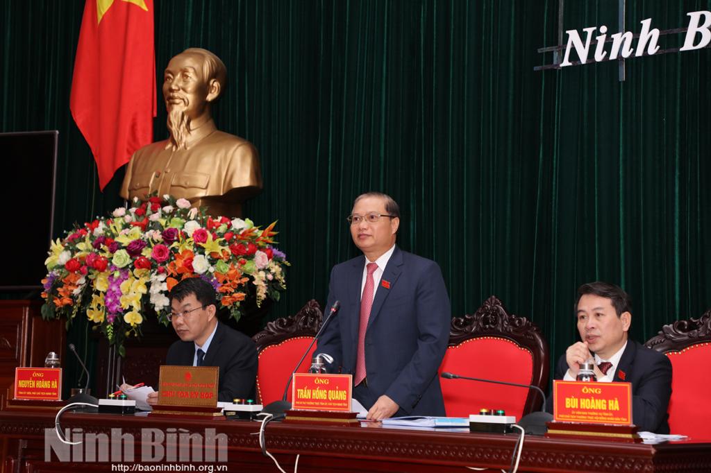 Kỳ họp thứ 23- HĐND tỉnh khóa XIV: Xem xét thông qua 8 dự thảo Nghị quyết