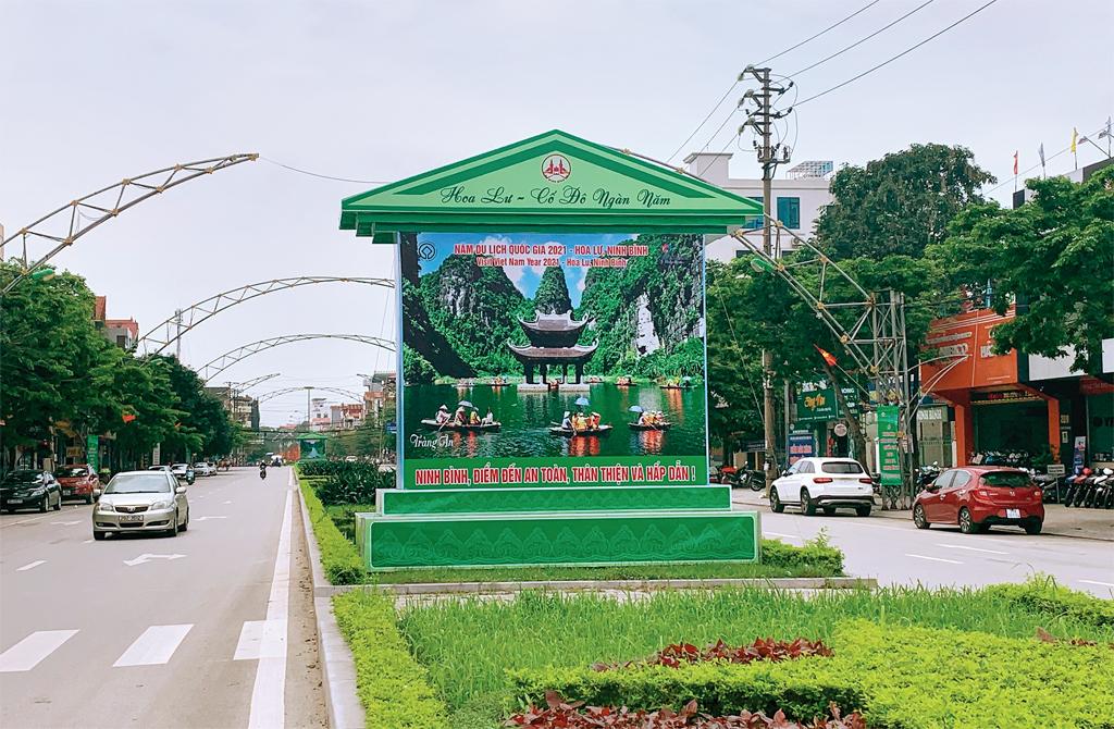 Đẩy mạnh quảng bá Năm Du lịch Quốc gia 2021- Hoa Lư, Ninh Bình